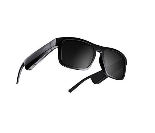 صورة بوز تينور نظارة شمسية بلوتوث مع ميكروفون - أسود
