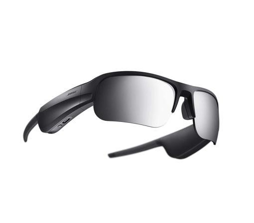 صورة بوز نظارات شمسية رياضية بلوتوث مع ميكروفون - أسود