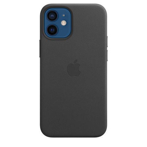 صورة أبل كفر جلد للأيفون 12 ميني - أسود