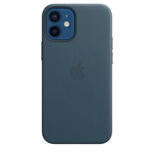 صورة أبل كفر جلد للأيفون 12 ميني - أزرق غامق