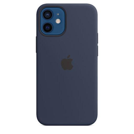 صورة أبل كفر سيليكون للأيفون 12 ميني - أزرق غامق