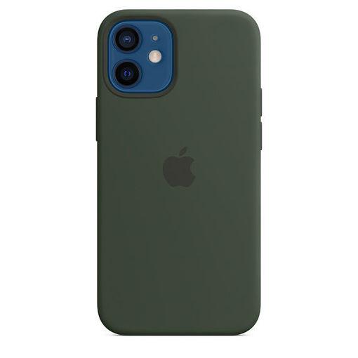 صورة أبل كفر سيليكون للأيفون 12 ميني - أخضر