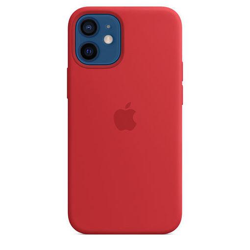صورة أبل كفر سيليكون للأيفون 12 ميني - أحمر