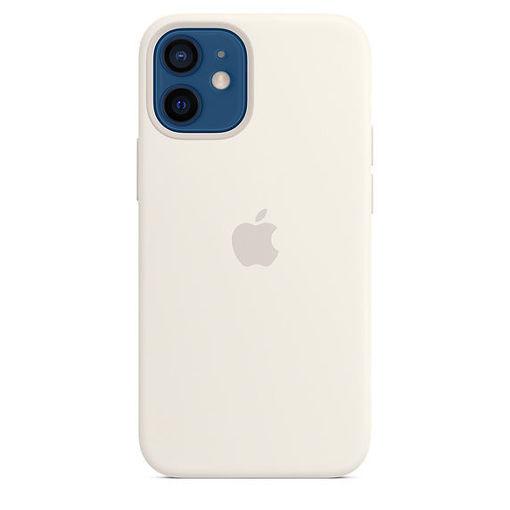 صورة أبل كفر سيليكون للأيفون 12 ميني - أبيض