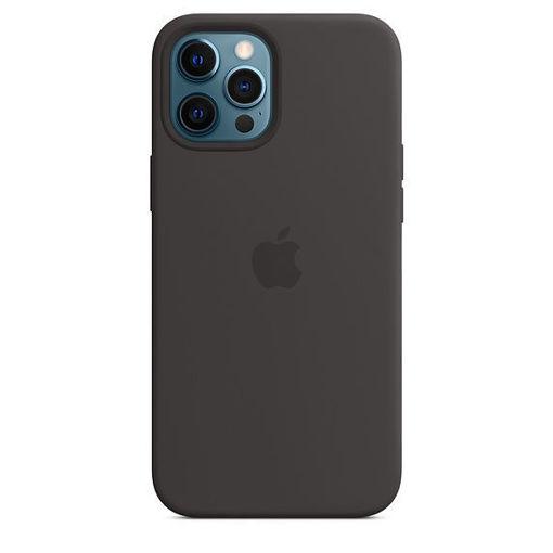 صورة أبل كفر سيليكون للأيفون 12 برو ماكس - أسود