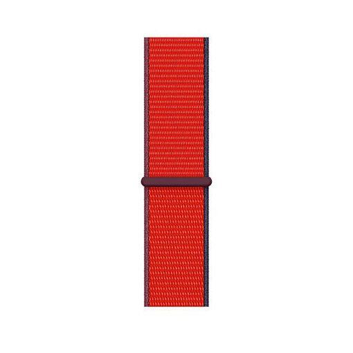 صورة أبل سير نايلون لساعة أبل مقاس 42/44 مللي - أحمر