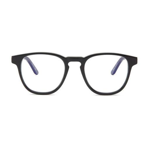 صورة بارنر نظارة لحماية عينيك من الضوء الأزرق الضار - أسود