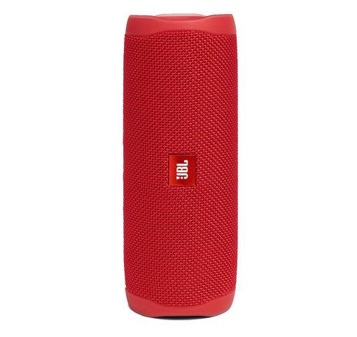 صورة جي بي أل فليب 5 مكبر صوت لاسلكي محمول ضد الماء - أحمر