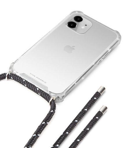 صورة فيفا مدريد كفر شفاف للأيفون 12 ميني - حبل أسود