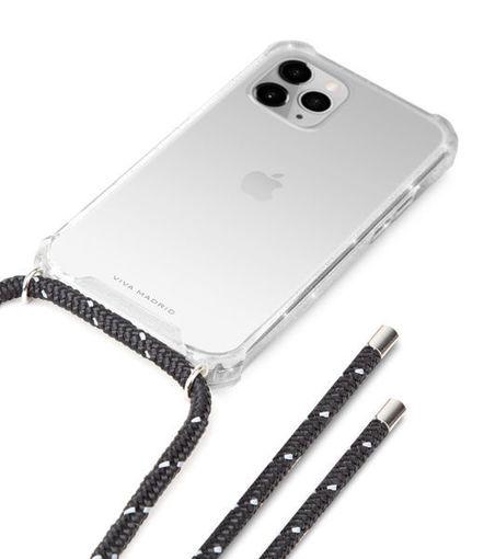 صورة فيفا مدريد كفر شفاف للأيفون 12 برو ماكس - حبل أسود