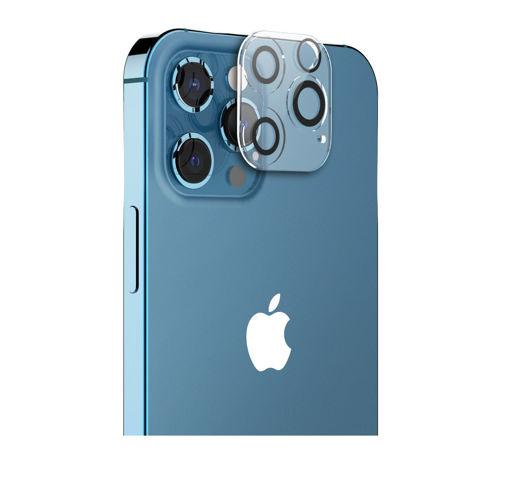 صورة أراري كفر حماية لعدسات كاميرا أيفون 12 برو ماكس - شفاف