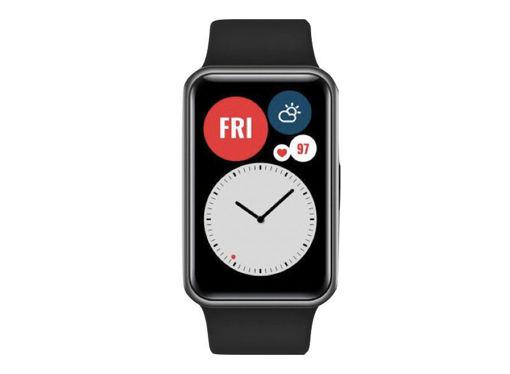 صورة هواوي ووتش فيت ساعة ذكية أندرويد - أسود