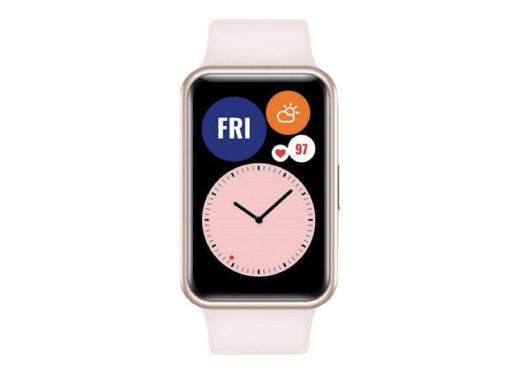 صورة هواوي ووتش فيت ساعة ذكية أندرويد - وردي