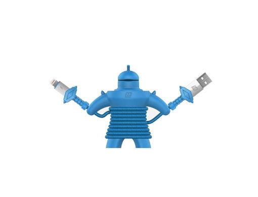 صورة موماكس كيبل شحن لايتنينج للألعاب 1.2 متر - أزرق