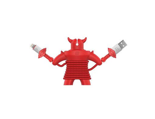 صورة موماكس كيبل شحن لايتنينج للألعاب 1.2 متر - أحمر