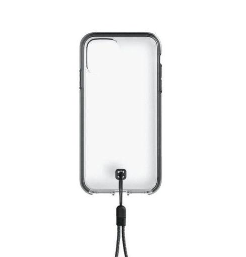 صورة لاندر كفر للأيفون 12 برو ماكس - شفاف/أسود