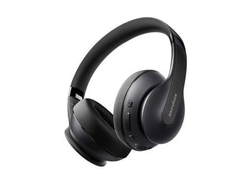 صورة أنكر سماعة لاسلكية فوق الأذن - أسود