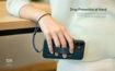 صورة يونيك كفر مزود بمقبض يد للأيفون 12 ميني - أسود