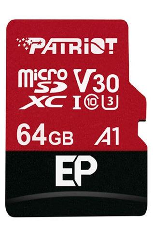 صورة باتريوت بطاقة ميموري اس دي 64 جيجا بايت - أحمر/ أسود