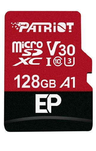 صورة باتريوت بطاقة ميموري اس دي 128 جيجا بايت - أحمر/ أسود