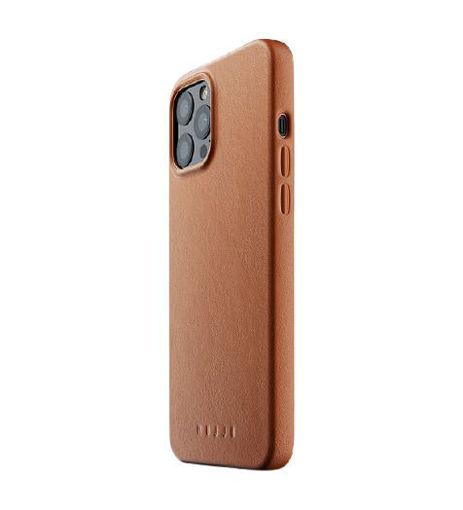 صورة موجو كفر جلد للأيفون 12 برو ماكس - بني