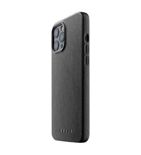 صورة موجو كفر جلد للأيفون 12 برو ماكس - أسود