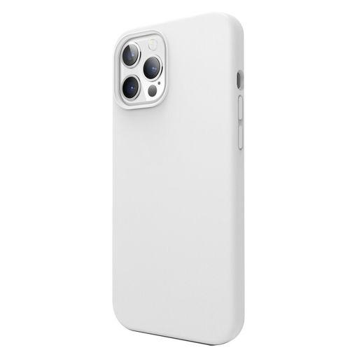 صورة إيلاقو كفر سيليكون للأيفون 12 برو ماكس - أبيض