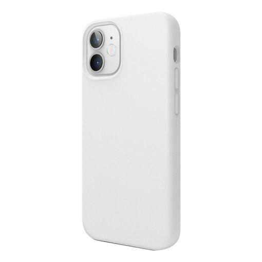 صورة إيلاقو كفر سيليكون للأيفون 12 ميني - أبيض