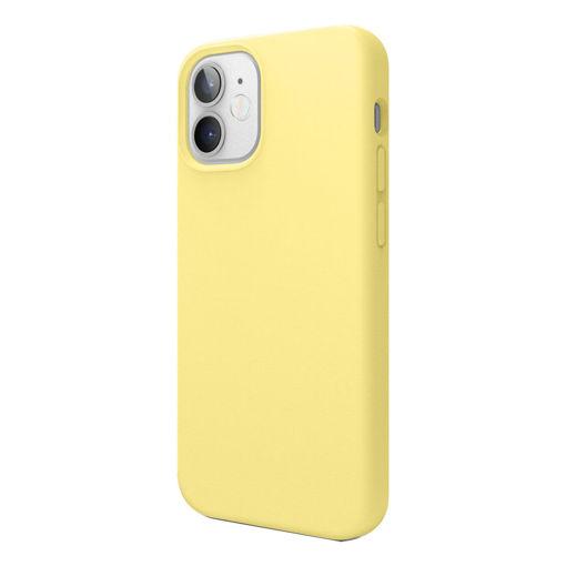 صورة إيلاقو كفر سيليكون للأيفون 12 ميني - أصفر