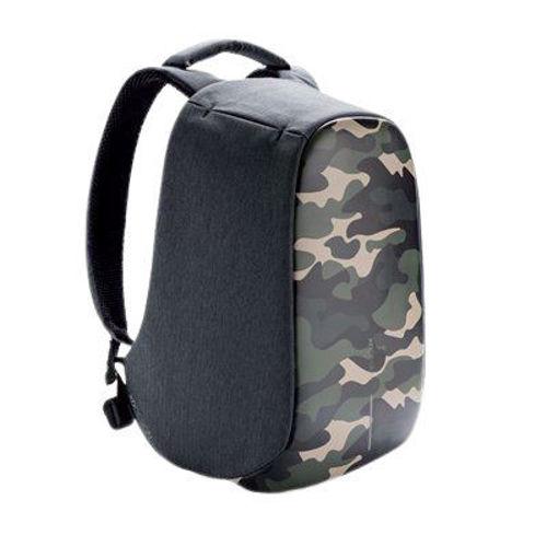 صورة إكس دي ديزاين بوبي كومباكت حقيبة ظهر ضد السرقة - جيشي أخضر