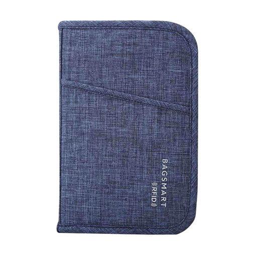 صورة باق سمارت حقيبة لجواز السفر والبطاقات - أزرق داكن