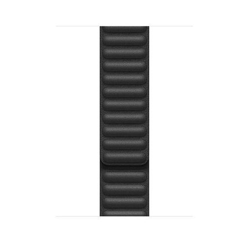 صورة أبل سير جلد لساعة أبل 44/42 مللي كبير - أسود