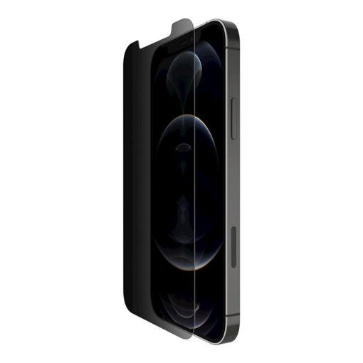 صورة   بيلكن حماية شاشة مع طلاء مضاد للبكتيريا للأيفون 12/12 برو - للخصوصية