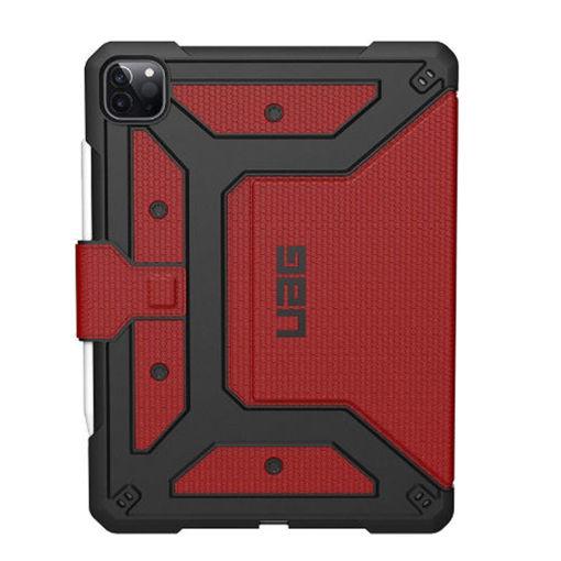 صورة يو أي جي ميتروبوليس كفر للأيباد برو 12.9 إنش الجيل الرابع  2020 - أحمر