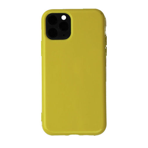 صورة جست مست كفر سيليكون للأيفون 11 برو - أصفر