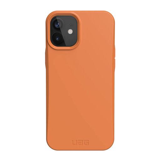 صورة يو أي جي أوت باك كفر للأيفون 12 ميني - برتقالي