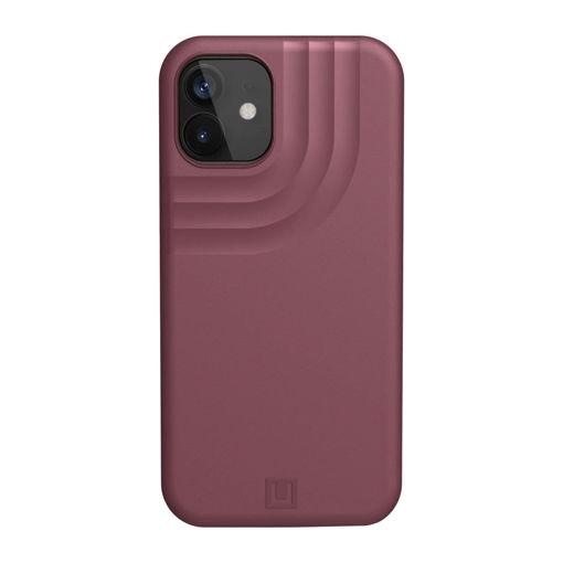 صورة يو أي جي كفر للأيفون 12 ميني - أحمر غامق