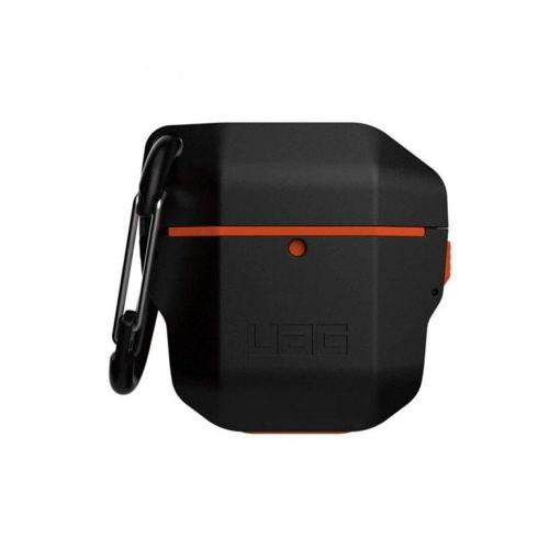 صورة يو أي جي كفر لسماعة أبل أيربودز - أسود/برتقالي
