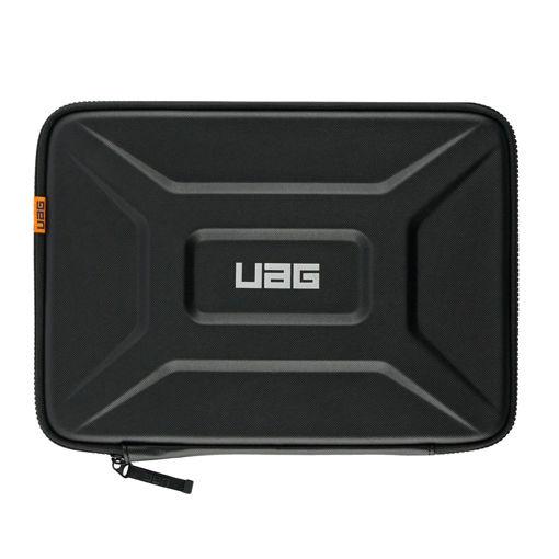 صورة يو أي جي حافظة مع مقبض للكمبيوتر المحمول والتابليت مقاس 11-13 إنش - أسود