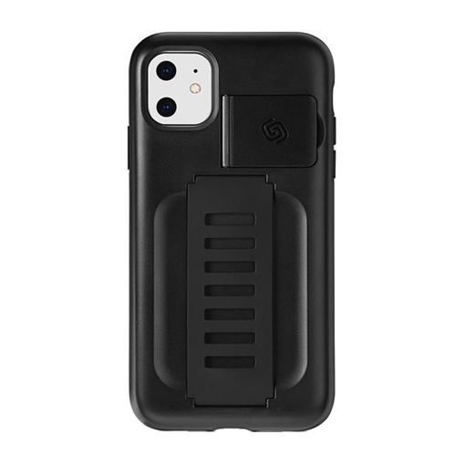 Picture of Grip2u Boost Case With Kickstand for iPhone 11 - Charcoal