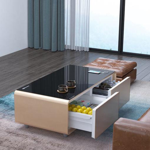 صورة سنتراكول الطاولة الذكية - ذهبي