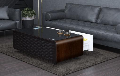صورة سنتراكول الطاولة الذكية - بني/أسود