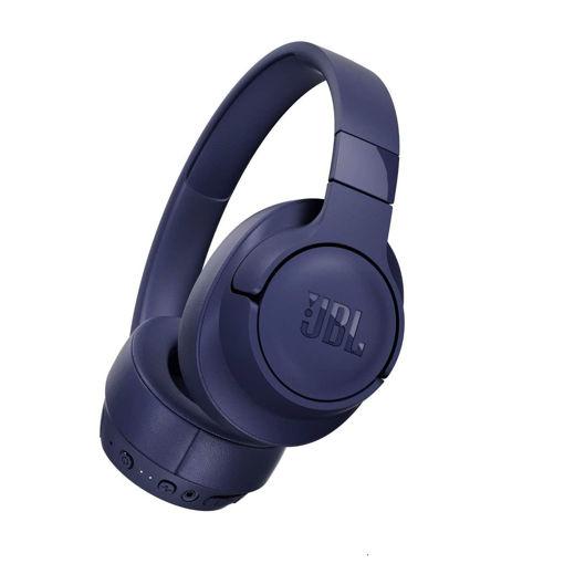 صورة جي بي أل سماعة رأس لاسلكية بخاصية الغاء الضوضاء - أزرق
