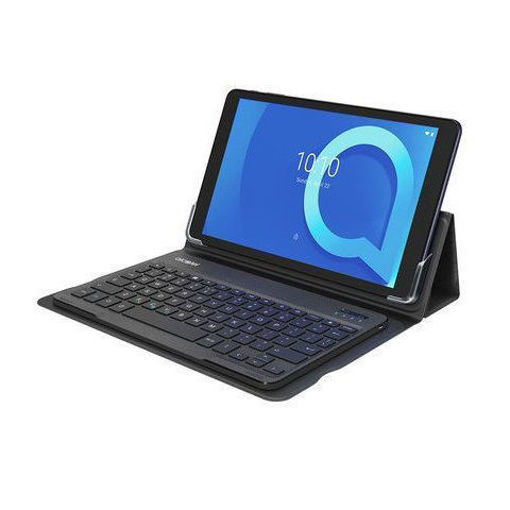 صورة ألكاتيل تابلت 10 إنش 32 جيجابايت واي فاي + لوحة مفاتيح أندرويد - كحلي