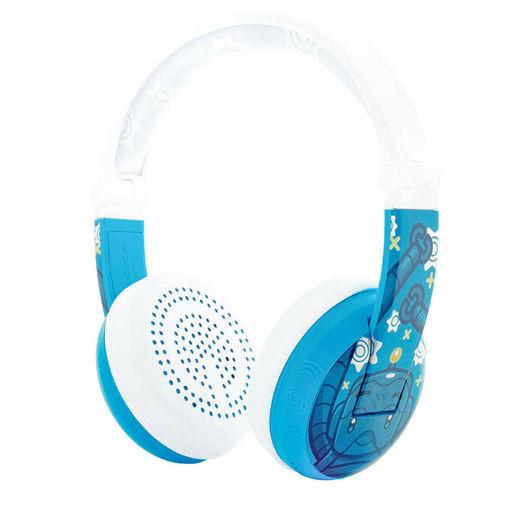 صورة بودي فونز سماعات رأس لاسلكية مضادة للماء - أزرق