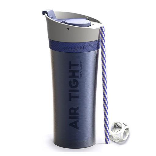 صورة أسوبو كوب لحفظ المياه والمشروبات باردة - أزرق