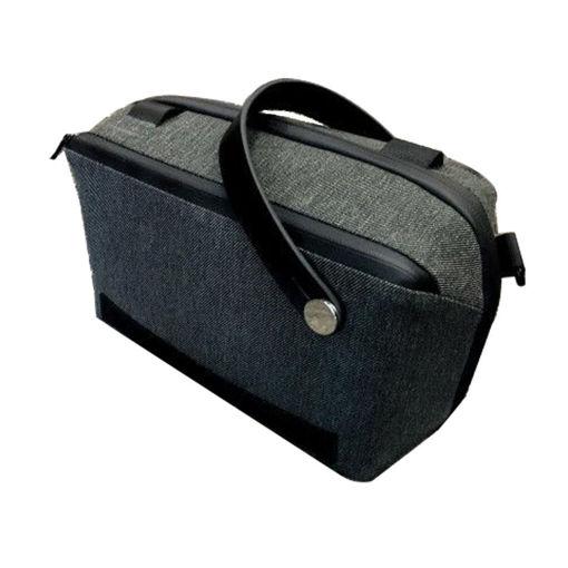 صورة باج سمارت حقيبة يد صغيرة - رمادي