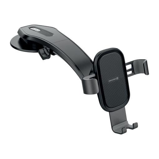 صورة سويستن جي أي أر 1 حامل السيارة للهواتف الذكية - أسود