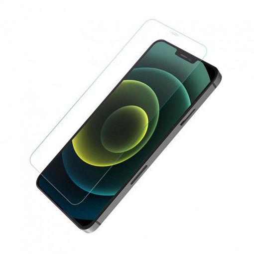 صورة جي سي بال حماية شاشة من الزجاج لجهاز أيفون 12 برو ماكس - شفاف