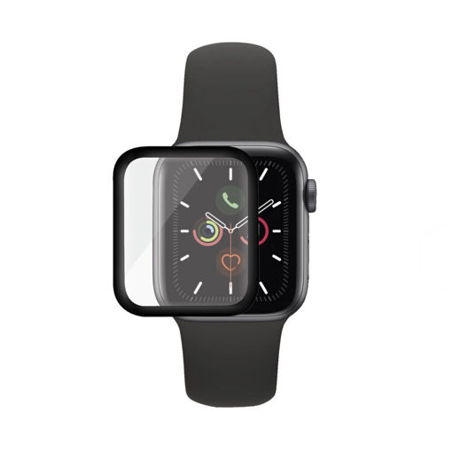 Picture of PanzerGlass Apple Watch Series 4/5 44MM Black - Clear